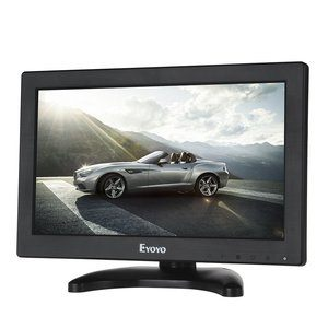 #8. Eyoyo TFT LCD Monitor 12 Inch with VGA