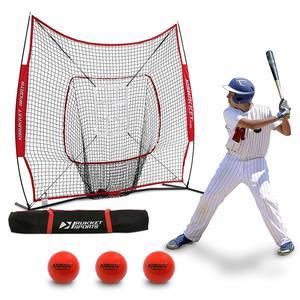 8. Rukket 6pc Baseball Pitching Net/Softball Bundle