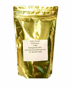 #8. Sulfur Powder 99.9 Percent Pure