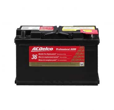 Acdelco Car Battery Professional Automotive
