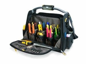 CLC Custom Leathercraft Electrician Tool Bag