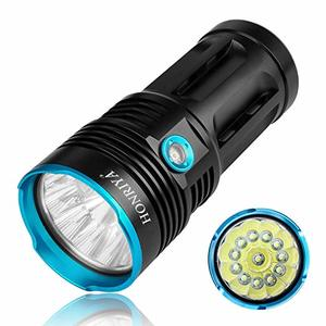 #9 HONRIYA Bright LED Flashlight