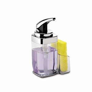 #9 simplehuman Precision Lever Quality Square Push Soap Pump