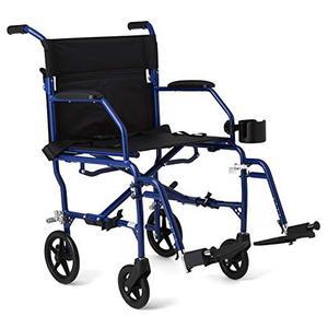 9. Medline Mobility Ultralight Transport Wheelchair