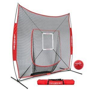 9. PowerNet DLX 7x7 Baseball Pitching Nets