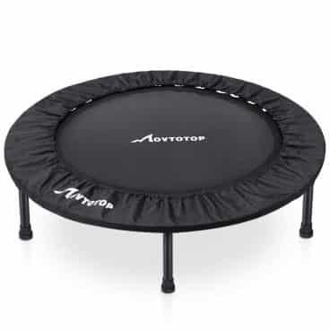 MOVTOTOP Mini Trampoline with Safety Pad