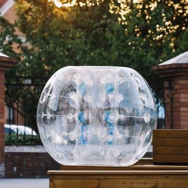 Happybuy Inflatable Bumper Ball 1.2M/4ft 1.5M/5ft Diameter Bubble Soccer
