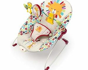 #1. Bright Starts Playful Pinwheels Bouncer with Vibrating Seat