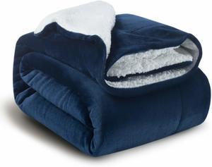 #10 Bedsure Sherpa Fleece Blanket