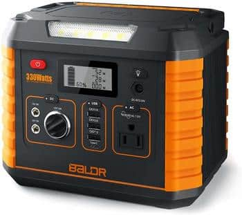 10. BALDR Portable Power Station
