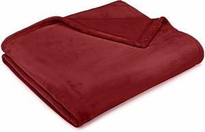 #11 Pinzon Velvet Blanket King, Burgundy