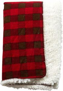 #11 Trend Lab Northwoods Plush Receiving Blanket