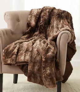 #12 Pinzon Faux Throw Blanket 63 x 87