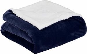 #13 AmazonBasics Soft Micromink Sherpa Throw Blanket