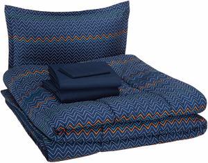 #15 AmazonBasics Super Soft Easy Care Microfiber Bedding Set