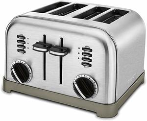 #2. Cuisinart CPT-180 4-Slice toaster
