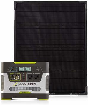 2. Goal Zero Yeti 400 Portable Power Station Kit with Boulder 50 Solar Panel