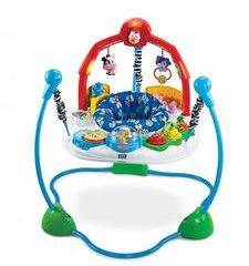 #3. Fisher-Price Jumperoo Laugh and Learn