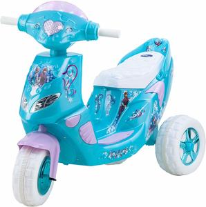 #3. Kid Trax Frozen 6V Girl's Ride On Scooter