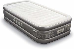 #3. Noble Twin Luxury Air Mattress Double Raised Built-in Pump