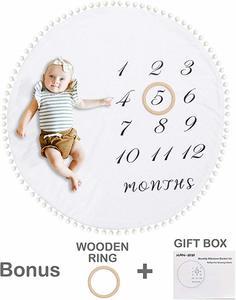 #4 HAN-MM Baby Milestone Blanket