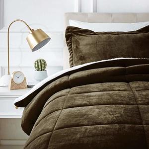 #6 AmazonBasics Micromink Sherpa Comforter