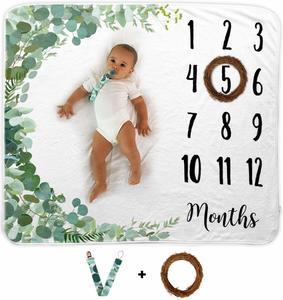 #6 Baby Monthly Milestone Blanket