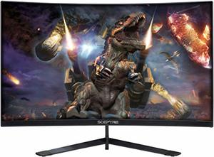 #6. Sceptre 27-[inch Curved Gaming LED Monitor 144Hz Refresh Rate, Edge-Less AMD FreeSync