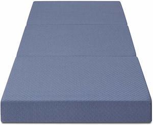 #7 Olee Sleep Topper Memory Foam Tri-Folding Mattress