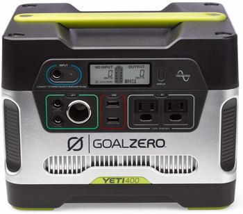 7. Goal Zero Yeti 400 Portable Power Station