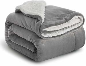 #8 BEDSURE Sherpa Fleece Blanket