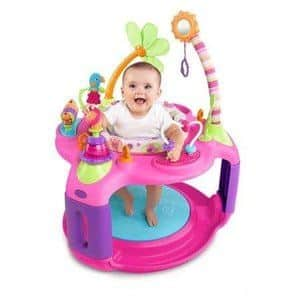 #8. Bright Starts Sweet Safari Bounce-a-Round Pretty in Pink