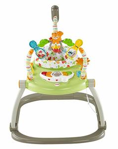 #8. Fisher-Price Woodland Friends SpaceSaver Jumperoo