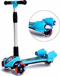 #8.MammyGol 3 Wheel Kick Scooter for Kids
