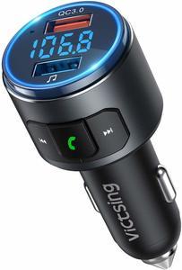 11 VicTsing V5.0 Bluetooth FM Transmitter