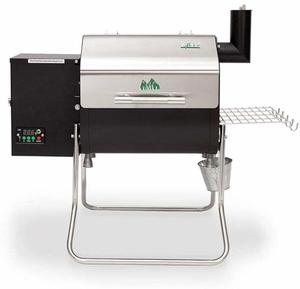 3. Green Mountain Grills Crockett Davy WiFi Controlled Wood Pellet Grill Portable