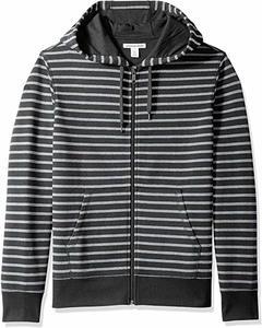 5. Amazon Essentials Full-Zip Hooded Fleece Hooded Sweatshirt for Men