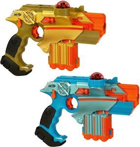 1. Nerf Official Lazer Tag Phoenix LTX Tagger 2-pack