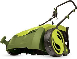 1. Sun Joe AJ801E 13 in. 12 Amp Electric Scarifier + Lawn Dethatcher