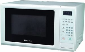 10. Magic Chef Cu. Ft Countertop Oven with Push-Button Door