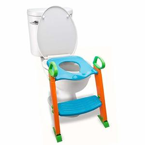 10. Potty Training Seat Toilet with Ladder - for Kids Toddlers