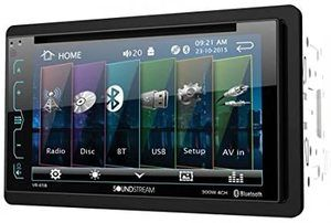 10. Soundstream VR-65B Double-DIN Bluetooth Car Stereo