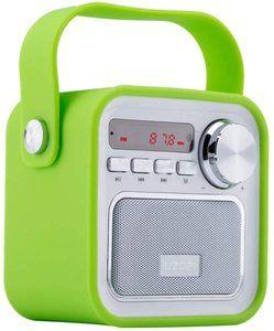 10. UZOPI 5W Wireless Outdoor Speakers with FM Radio