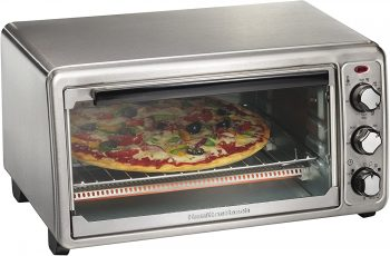 11. Hamilton Beach Digital Convection Countertop Toaster Oven, (31240)