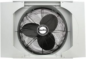 2. Air King 9166F 20-inch Whole House Window Fan