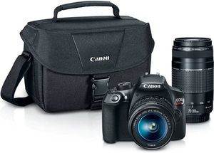 2. Canon Digital SLR Camera Kit [EOS Rebel T6]
