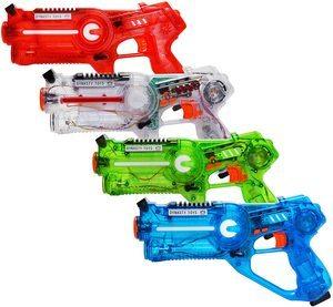 2. Dynasty Toys Laser Tag Set for Kids, 4 Pack