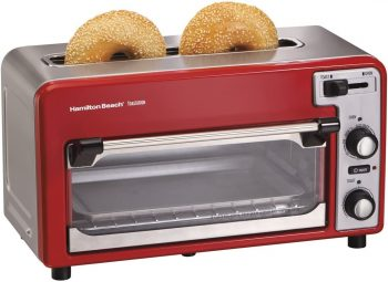 2. Hamilton Beach Toastation Oven with 2-Slice Toaster Combo