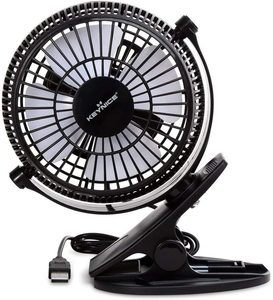 2. KEYNICE USB Desk Fan, 4 Inch Table Fans