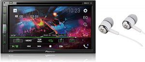 "2. Pioneer 6.8"" Double DIN Touch Screen Radios Receiver"